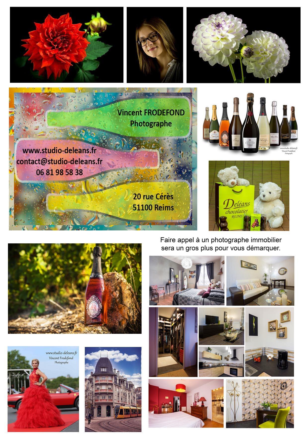 Studio photos Deléans  en champagne